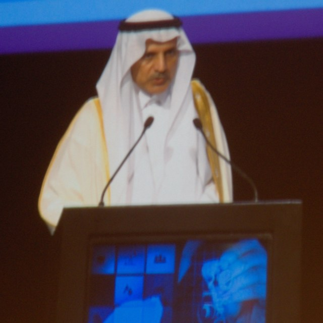 Address by OMAINTEC Institute Chairman Dr. Mohammad Al Fouzan.