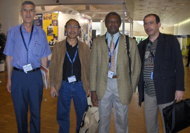 Participants from Algeria and Burkina Faso