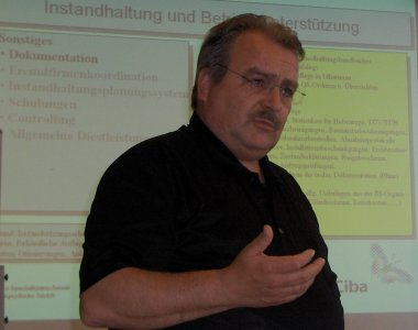 Mr. Herbert Jung, Ciba Lampertheim.