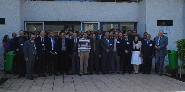 The participants in front of ENIM.