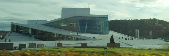 The new opera of Oslo.