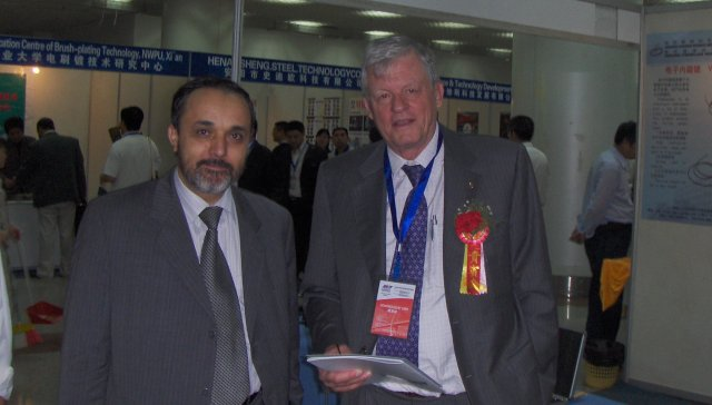 Prof. M. Tahiri, Marocco and Guido Walt, Switzerland.