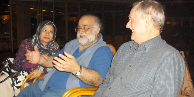 Dr. Mahmoud A. Madani (Saudi Arabia) and his wife, Mr. Alan Wilson.