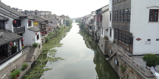 The Grand Canal, connecting Beijing and Hangzhou, passes through Wuxi. It is the longest canal in the world.