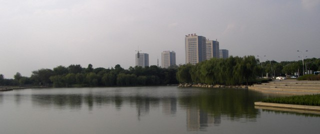 Wuxi on the Taihu Lake.